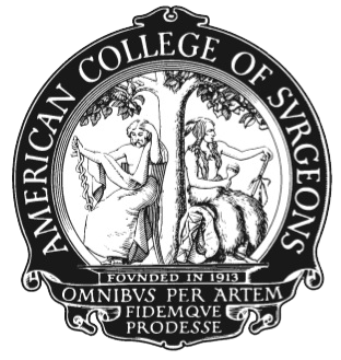 Emblem American college of Surgeons logo